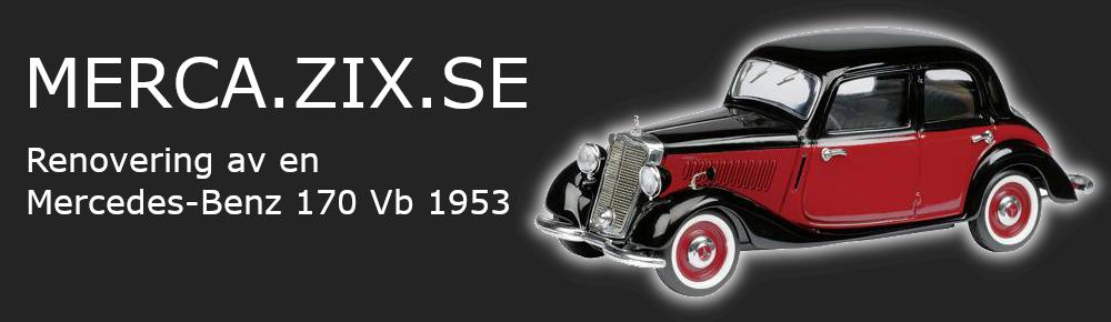 Renoveringen av Mercedes-Benz 170 Vb 1953